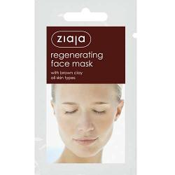 REGENERATING FACE MASK WITH BROWN CLAY 7ml