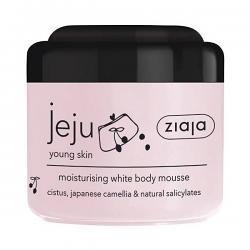Jeju pink line white body mousse 200ml